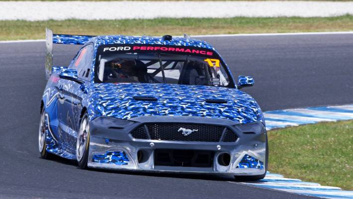 On November 10, 2018, a Ford Mustang for driving the 2019 super car season was demonstrated at Phillip Island near Melbourne.