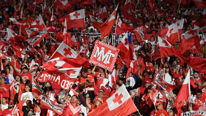Mt Smart was again sold out as Tonga came to town.