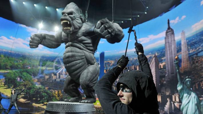 King Kong the first play debuted in Melbourne in 2013.