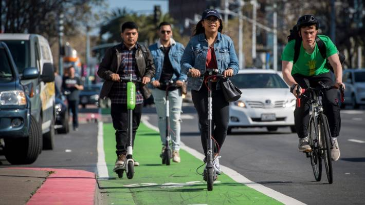Since Lime launched its scooters, two people have died in the United States while riding the devices and others have been badly injured, according to authorities