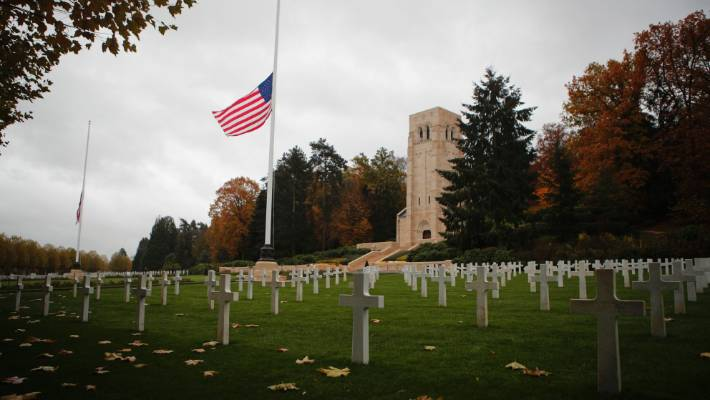 US President Donald Trump cancelled his visit to the Aisne-Marne American cemetery and memorial in Belleau, due to bad weather.