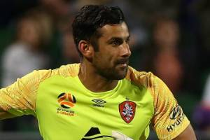Brisbane Roar goalkeeper Jamie Young was the subject of racist abuse on Saturday.