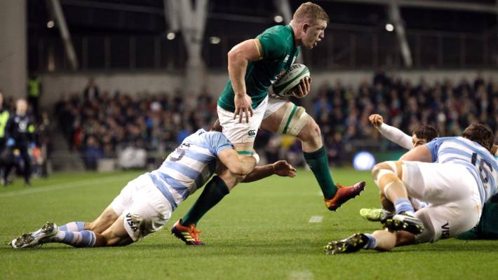 Dan Leavy is Sean O'Brien's likely replacement on the open side of the Irish scrum