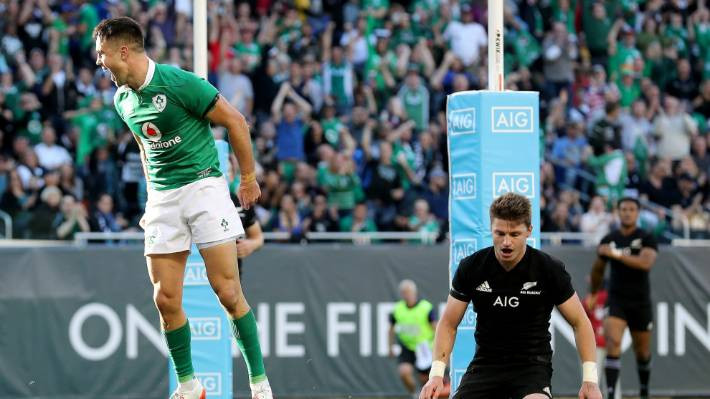 Ireland's Conor Murray and Robbie Henshaw ruled out for New Zealand