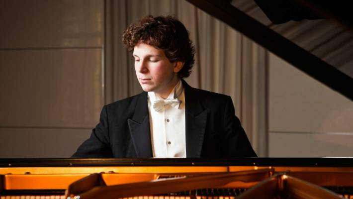 Even accompanying Christchurch Symphony Orchestra is astonished by the performance of pianist Jayson Gillham on Saturday night.