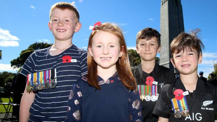 Generations later, Armistice Day remembered | Stuff co nz