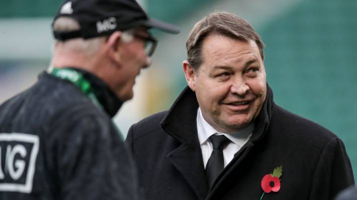 All Blacks fans had to wait for a press conference afterwards to hear Steve Hansen's view of the decision to deny England at once.