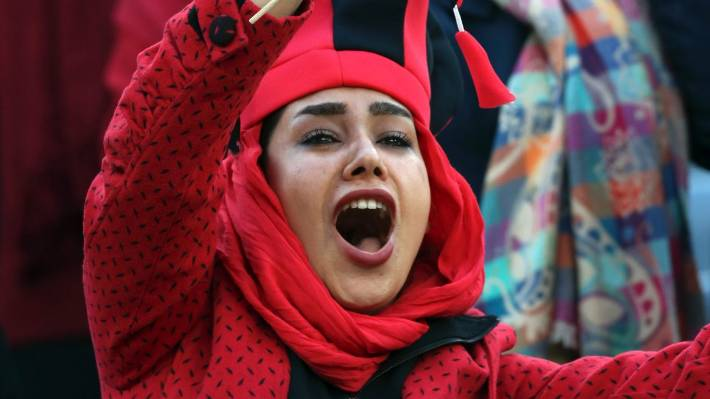 Iran ladies attend soccer last in 35-year first