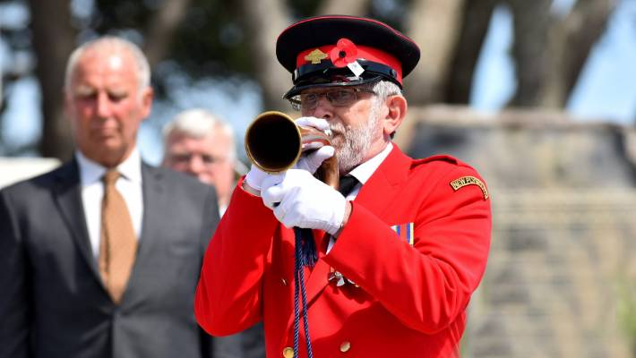 The last post was played by Trevor Bremner.
