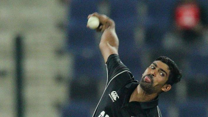 Legspinner Ish Sodhi took two wickets in 24 overs at 5.25 in three ODI matches against Pakistan.