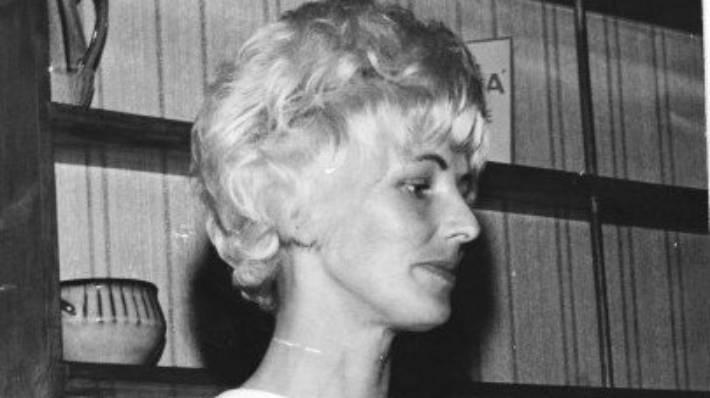 Suzi van der Kvast, who led Suzy's Coffee Bar in Wellington. (Date unknown)
