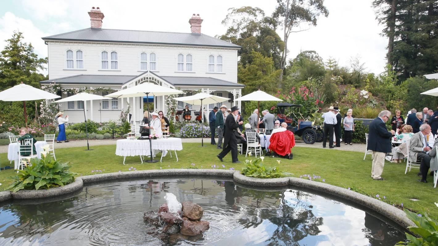 Hamilton Gardens Open Katherine Mansfield Inspired Garden Stuff Co Nz