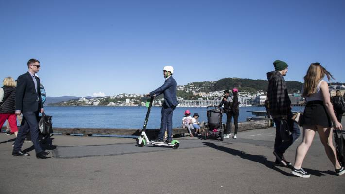 The lunch staff are in discussions with the city officials to see the popular e-scooters set up this summer.
