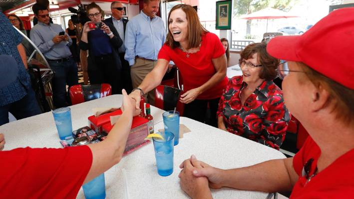 Kyrsten Sinema beats Martha McSally to become Arizona's first female senator