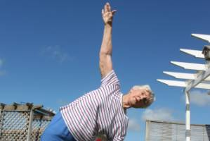 Morrinsville woman Jean Burmester has been practising yoga since 1971.