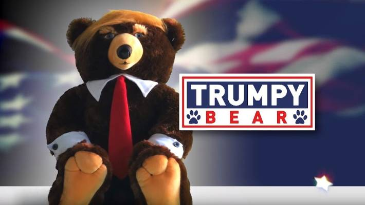 Real product or fake news? Trumpy Bear cuddly toy leaves internet baffled