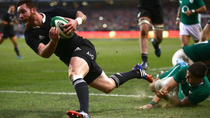 In November 2013, Ryan Crotty will take part in a winning attempt at All Blacks against Ireland in Dublin.