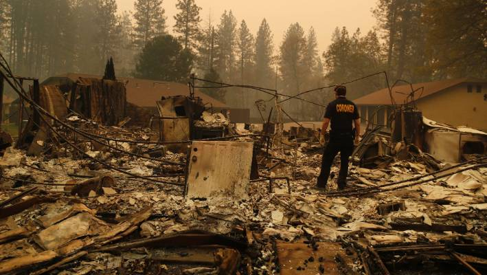 California Wildfires: death toll rises to 49 (official statement)