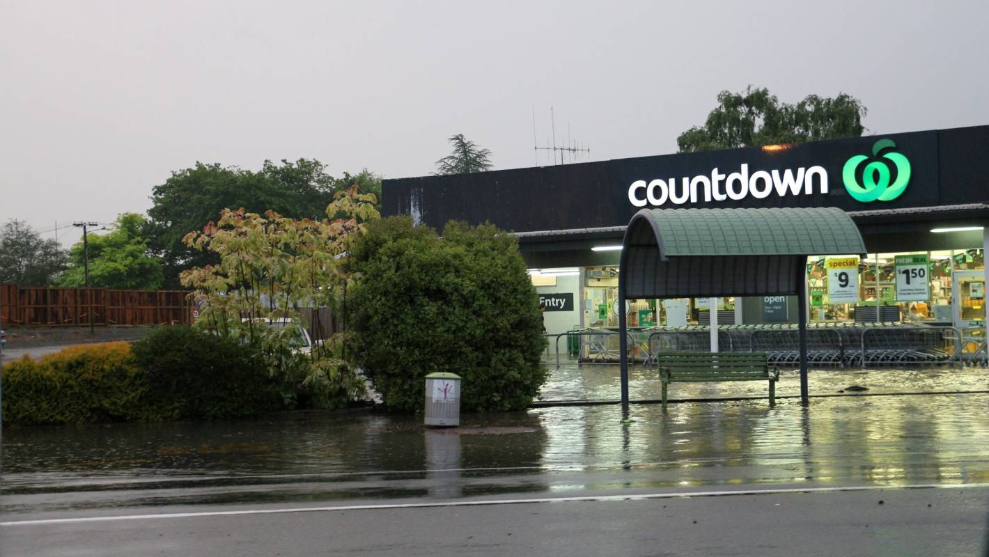 Thunderstorm brings flooding in South Waikato