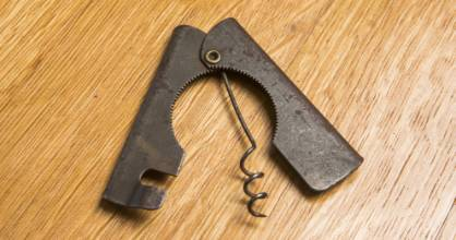 The only corkscrew patent from New Zealand was made in 1945 by James Alexander Mason.