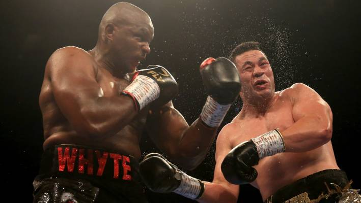 Dillian Whyte says Joseph Parker is difficult. And he went up and shaken my light so they did not.