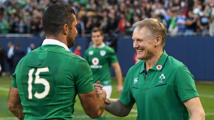 Ireland have beaten the All Blacks