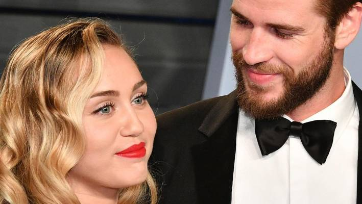 News Miley Cyrus and Liam Hemsworth Apparently Just Got Married