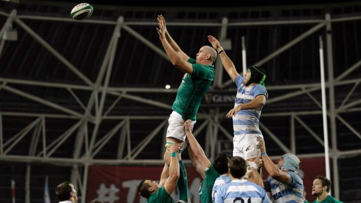 Devin Toner is a key player for Ireland.