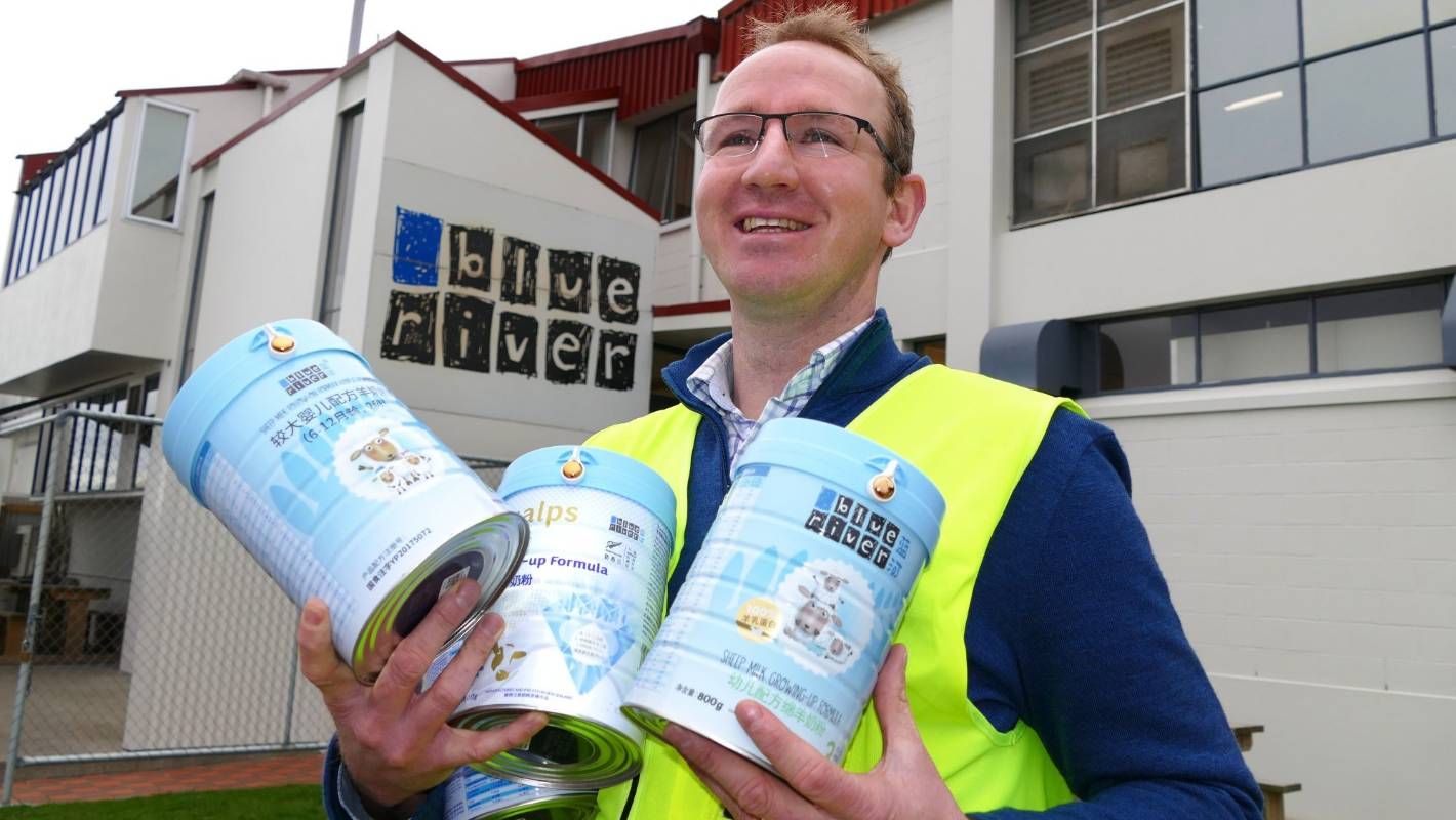 Blue River Dairy named as fastest growing exporter