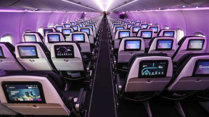 Air New Zealand's new A321neo aircraft are expected to deliver fuel savings and efficiencies of about 15 per cent.