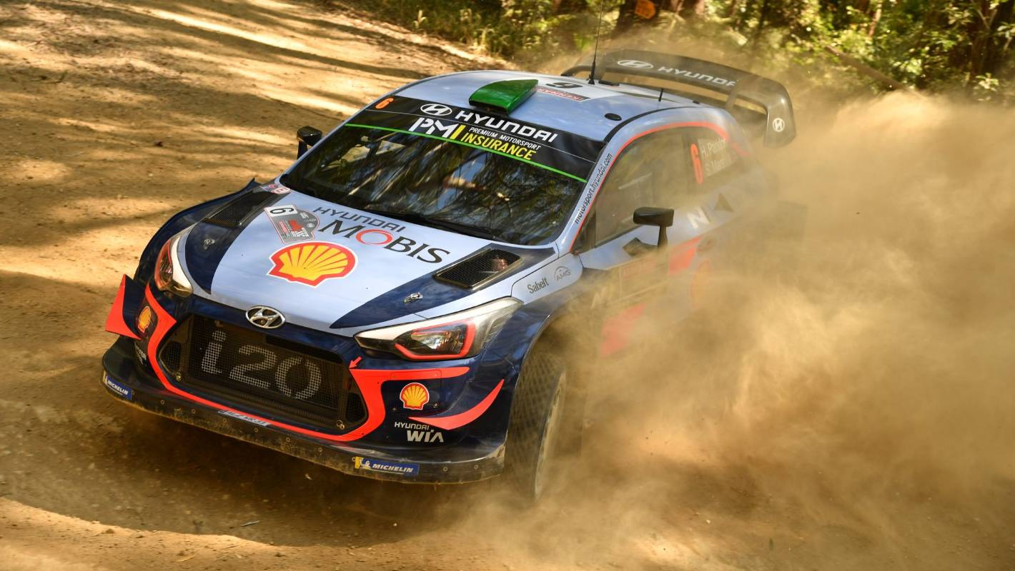 Hayden Paddon In Strong Position To Pounce Up Leaderboard Reverse Forward Control Circuit