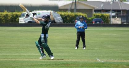 Trent McGrath scored 104 not out in Manawatū's win over Marlborough.