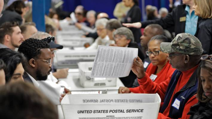 Most Florida counties done with hand recounts in Senate race