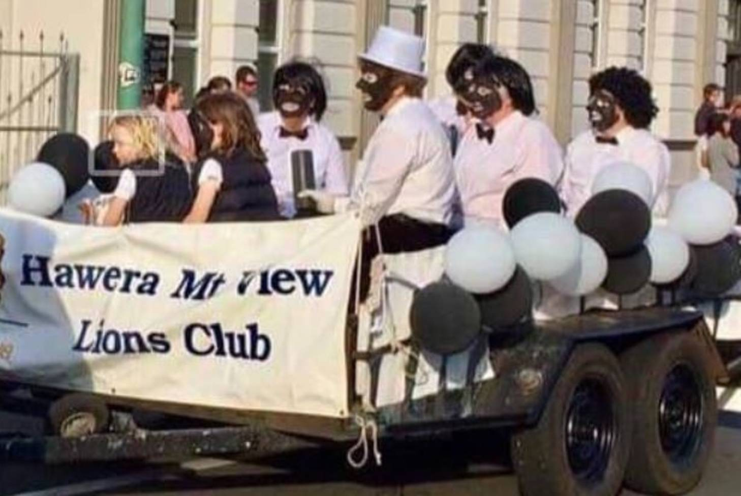 Lions Club decision to wear blackface at Hawera Community