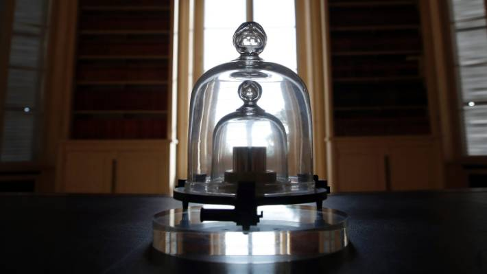 Scientists abandoned the use of the standard kilogram