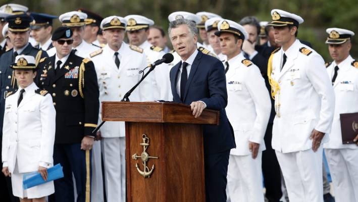 Missing Argentine navy submarine ARA San Juan 'imploded' at sea