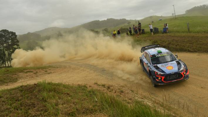 Hayden Paddon has won third-time Australian Rally.