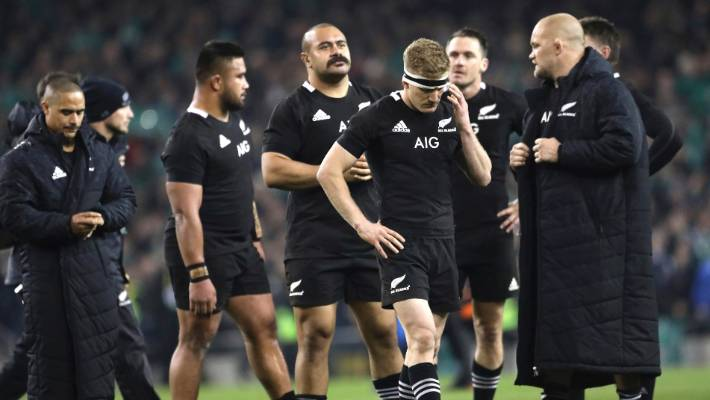 All Blacks v Ireland: No need to panic after black day for