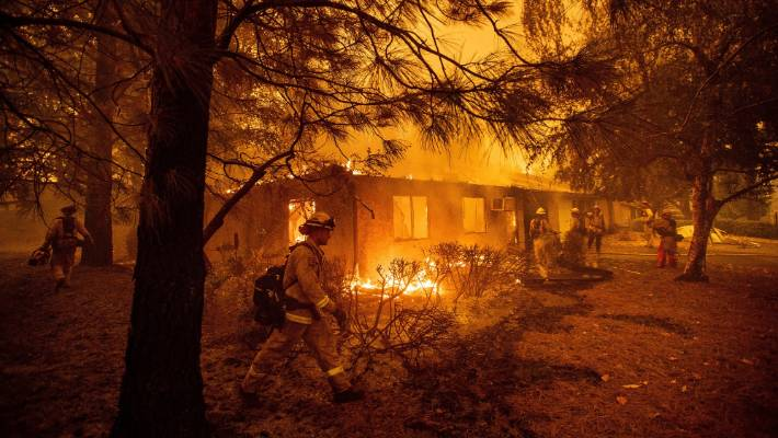 Northern California Wildfire Death Toll Rises To 88; 203 People Still Missing