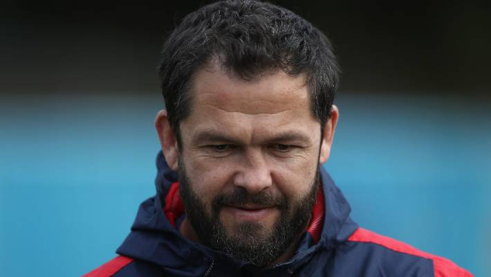 Andy Farrell was among the coaches sacked after England's World Cup exit in 2015.
