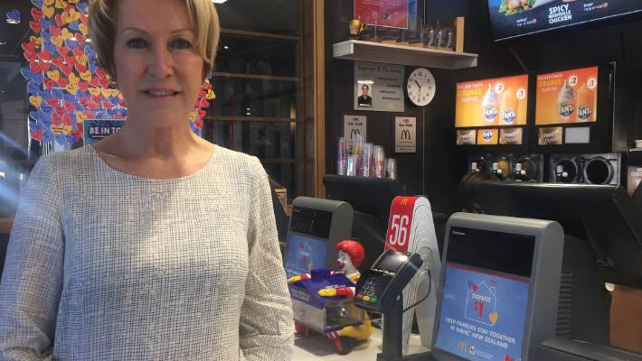 Taupō McDonald's owner, Eileen Byrne, says she lost in excess of $ 10,000 due to Monday's power cut.
