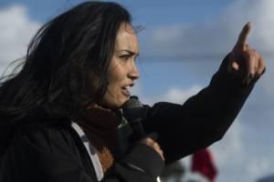 Pania Newton says she's prepared to die defending Ihumātao.