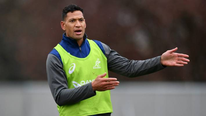 Folau's career hangs in the balance after meeting