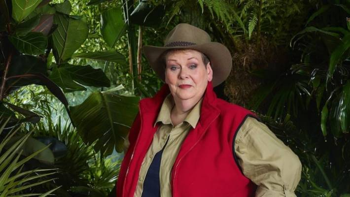 Anne Hegerty in a promotional imaged for ITV's I'm a Celebrity Get Me Out Of Here