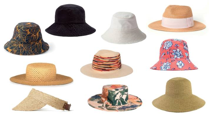 8c4e40774 Clockwise from left  Sylvester Palms bucket hat