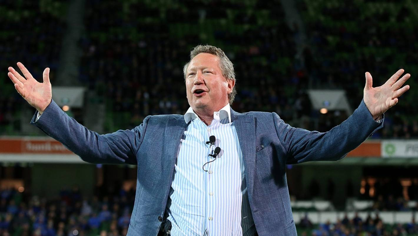 Delayed but not dead: Andrew Forrest upbeat despite Global Rapid Rugby glitch