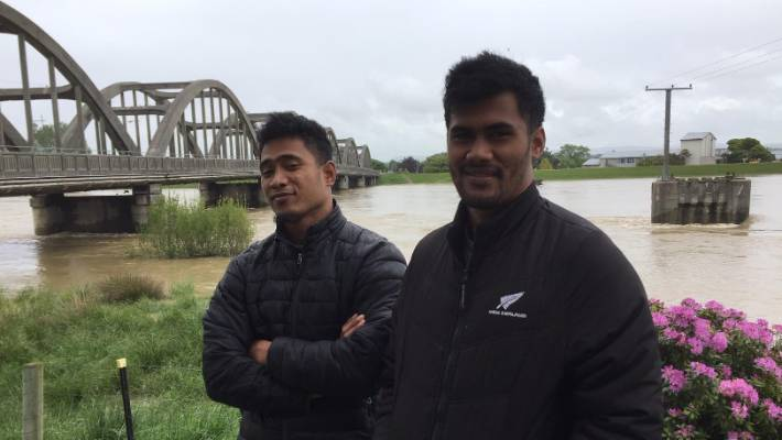 Silver Fern farms frozen by Ieru Leteu and Siao Lepo were sent home from work on Wednesday due to floods.
