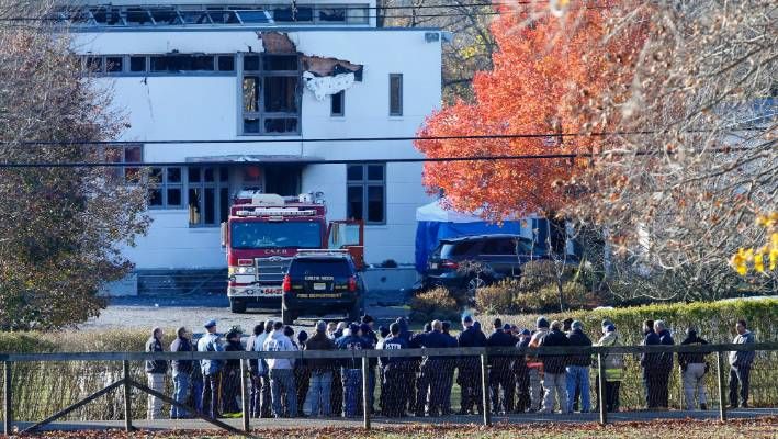 NJ family of four killed before house set afire