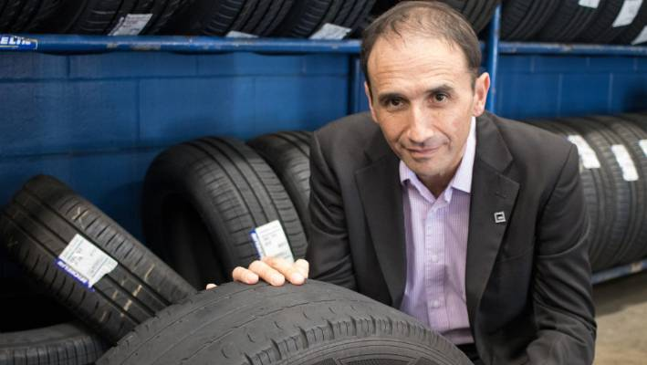 Motor Trade Association chef executive Craig Pomare says tyres can wear down to unsafe levels well inside the three year warrant of fitness period for a new car.