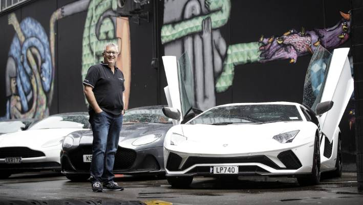 Giltrap Group's general manager of marketing, Sean Summerfield, says that a free event is a chance for the public to see cars worth $ 4 million in family and personal.